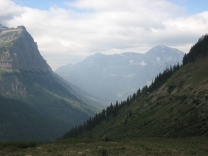 A view from a hike at Glacier National Park Photo By: Austin Yoder